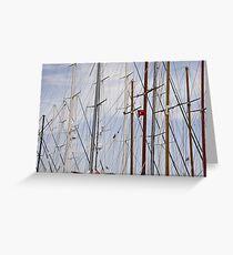 Masts Greeting Card