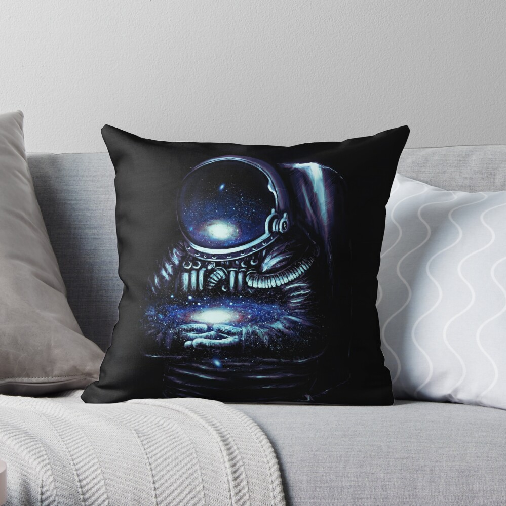 The Keeper Throw Pillow