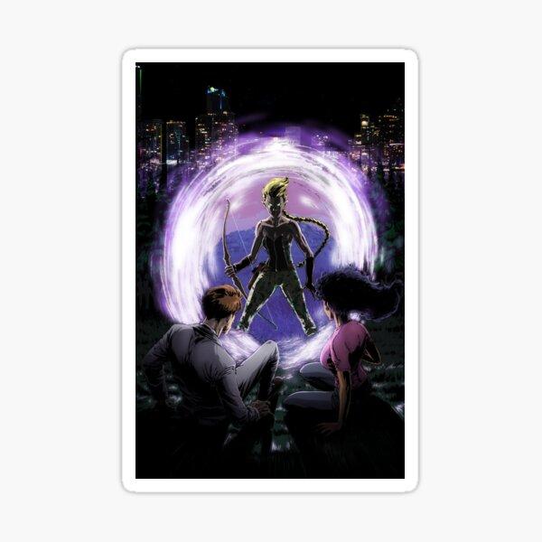 ARISTAR enters through the Dark Portal! Sticker