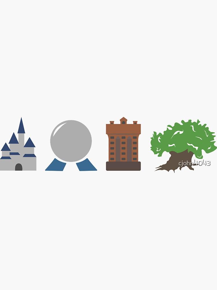 Los cuatro parques de la magia de cjohn4043
