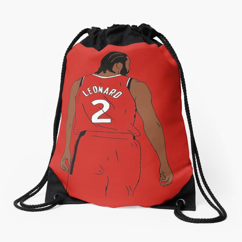Kawhi Leonard Raptors Drawstring Bag
