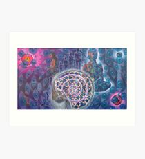"""""""From Conception to Conception- Journey of the Infinite soul""""- 09* *ORIGINAL AVAILABLE** Art Print"""