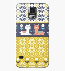 Alpaca Christmas Sweater Pattern  Case/Skin for Samsung Galaxy