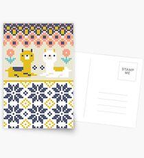 Alpaca Christmas Sweater Pattern  Postcards