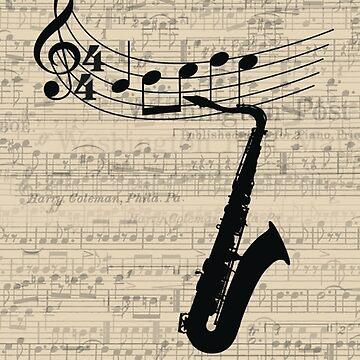 Saxophone by sophiaz