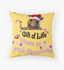 Breast Cancer Awareness Throw Pillow