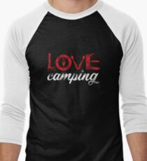 Love camping gift Men's Baseball ¾ T-Shirt