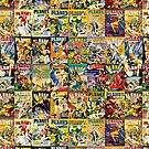 PLANET COMIC COllage by adamcampen