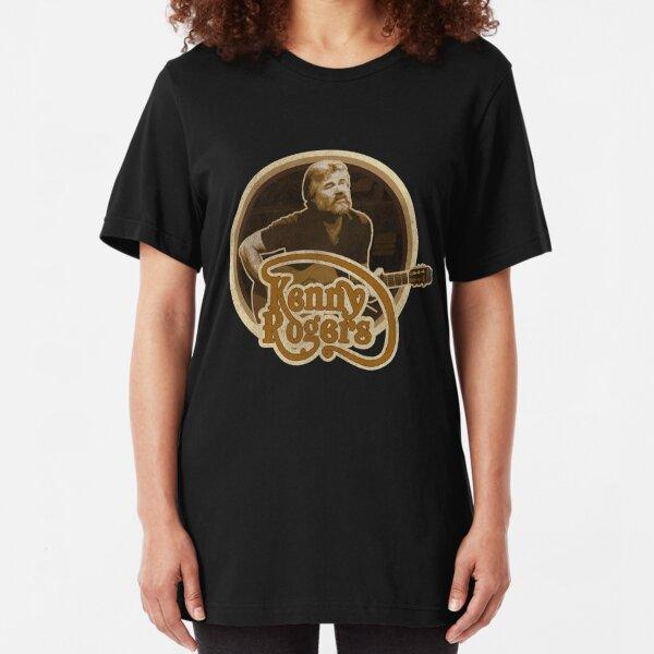Kenny Rogers Walt and Jesse  Slim Fit T-Shirt
