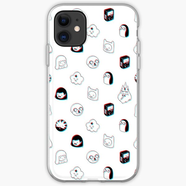 Adventure time iPhone Soft Case