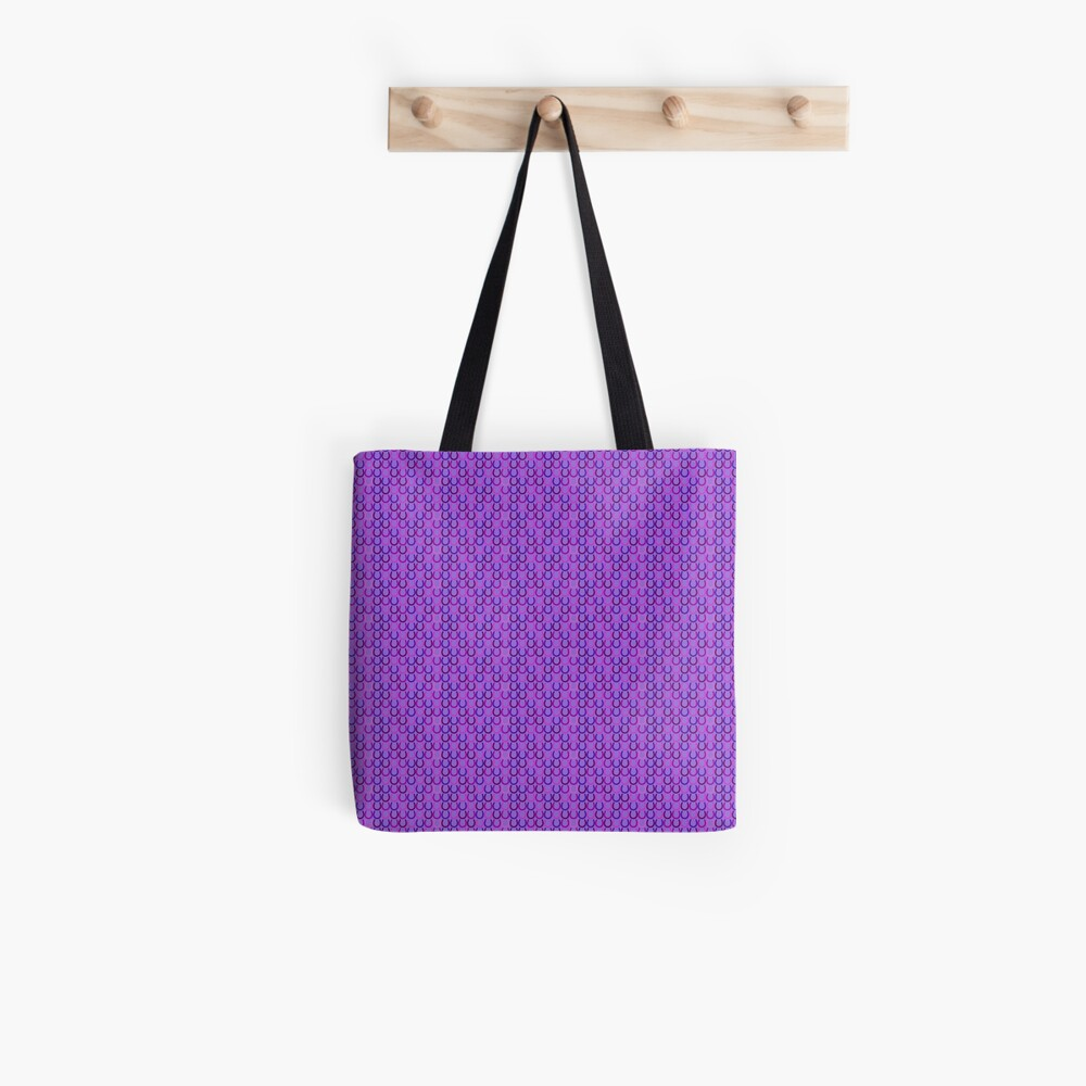 Horseshoes purple Tote Bag