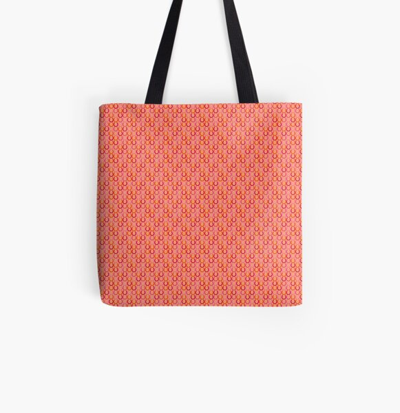 Horseshoes summer colors All Over Print Tote Bag