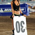 The Lovely Jacinta Rokich Monster Energy Super X Girl by DavidIori