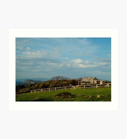 Craigs Hut, Mt Stirling Art Print