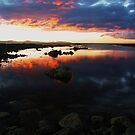 low head sunset tasmania by dmaxwell