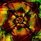 fractal rose by FractaliaNo1