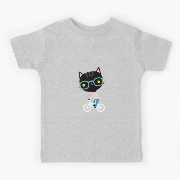 1Tee Enfants Garçons Résumé Cat Head-Coloré T-Shirt