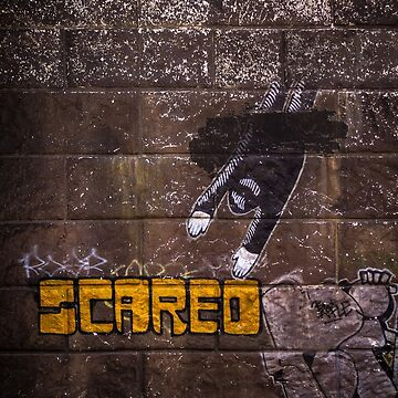 SCARED by Blauer