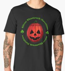 Silver Shamrock Pumpkin mask Men's Premium T-Shirt