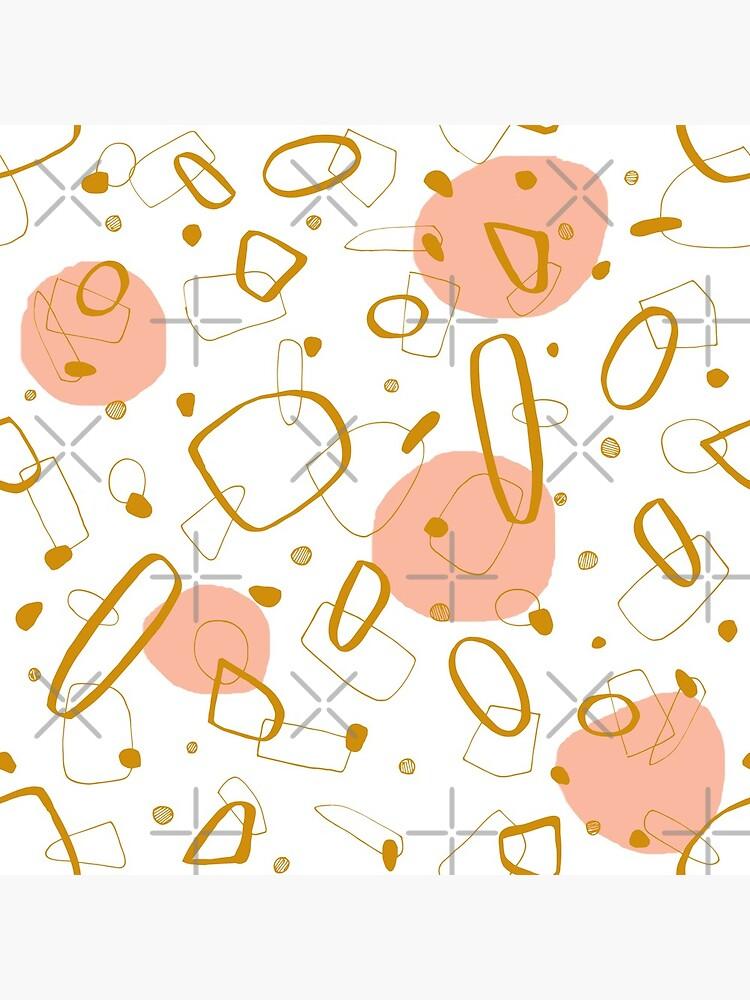 Doodle Pattern 04 #redbubble #doodle #pattern by designdn