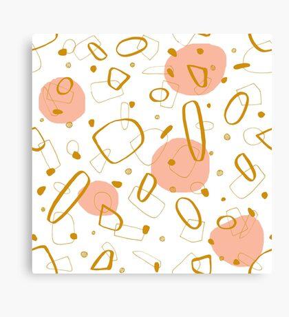 Doodle Pattern 04 #redbubble #doodle #pattern Canvas Print