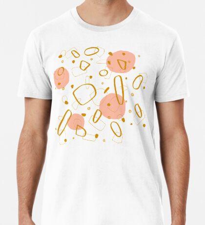 Doodle Pattern 04 #redbubble #doodle #pattern Premium T-Shirt