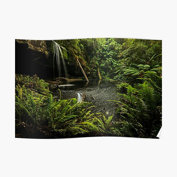 Lower Kalimna falls waterfalls Poster