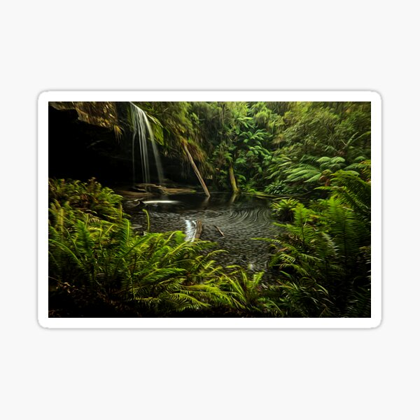 Lower Kalimna falls waterfalls Sticker