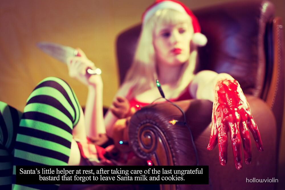 I hate Christmas, no.3 by hollowviolin