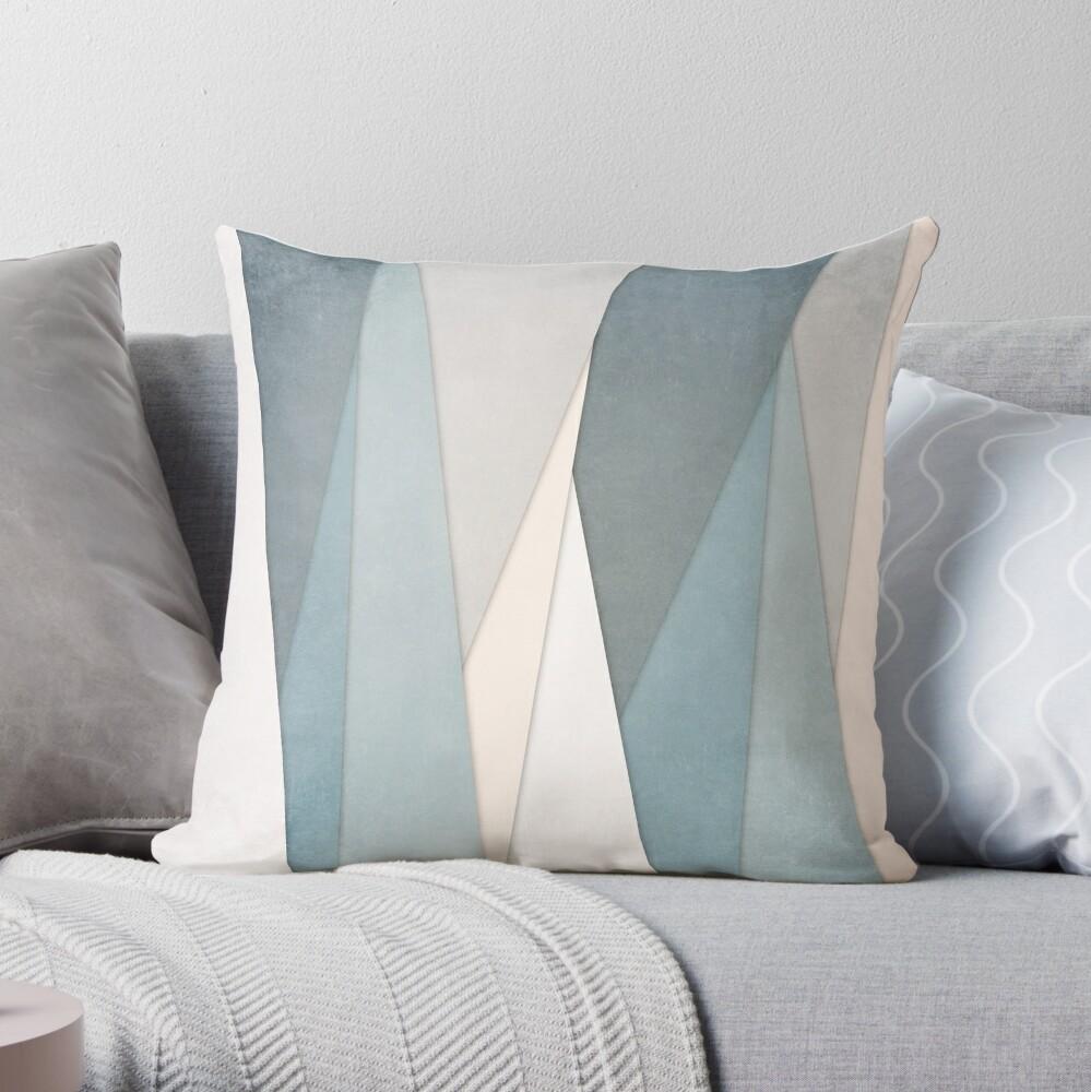 Textured Layers Throw Pillow