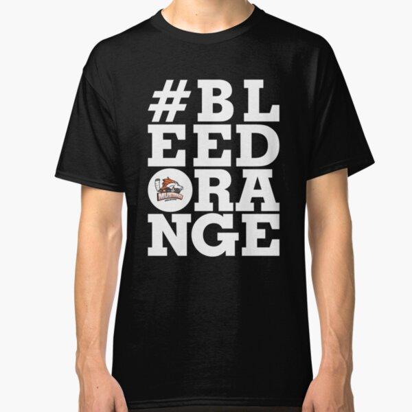 #BLEEDORANGE White Classic T-Shirt