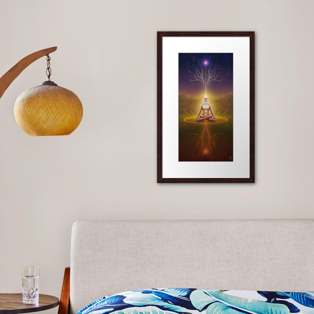 Midway Balance Framed Art Print