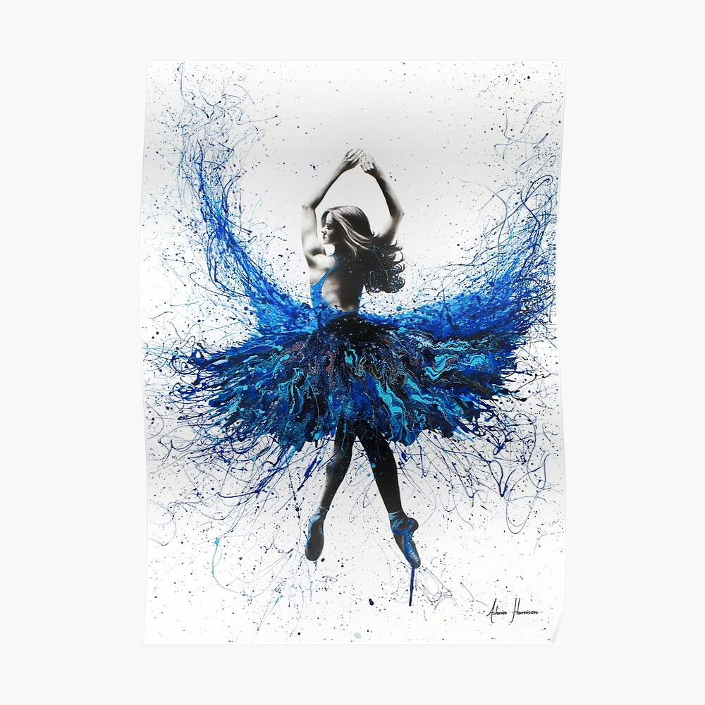 York Kristall Tanz Poster
