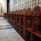 Inside details of St. Mark's Church. by Ana Belaj
