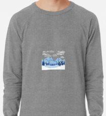 Ti-shirt bleu snow for men and women Lightweight Sweatshirt