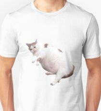 Fat crying cat Slim Fit T-Shirt