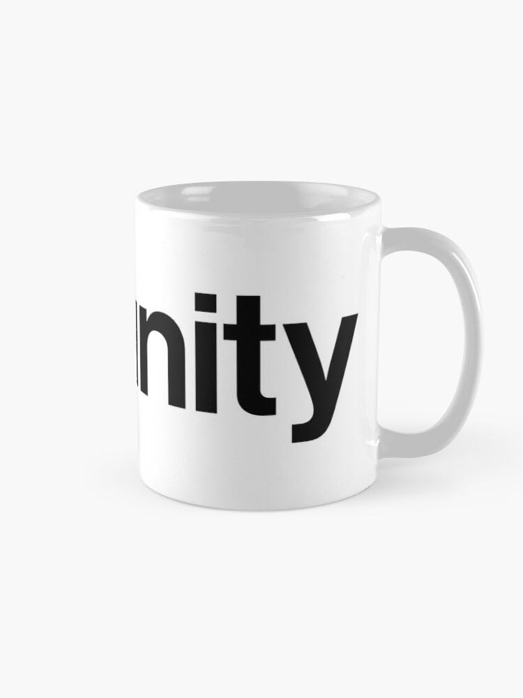 Alternate view of Unity 3D Mug