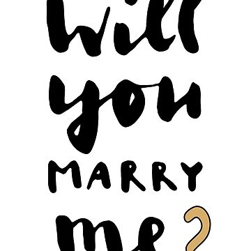 Will you marry me? by Sal71