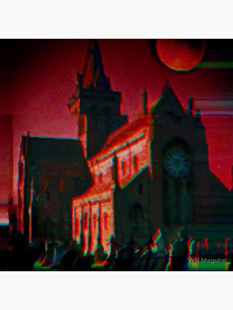 Red moon cathedral doom by PassionForPixls