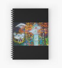 Midnight Transfer Spiral Notebook