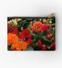 Begonia garden Studio Pouch