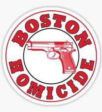 Rizzles Boston Homicide Logo Sticker