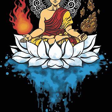 enlightment buddha by falaturi