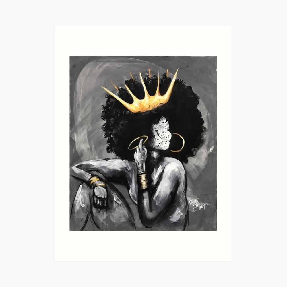 Natürlich Königin VI Kunstdruck