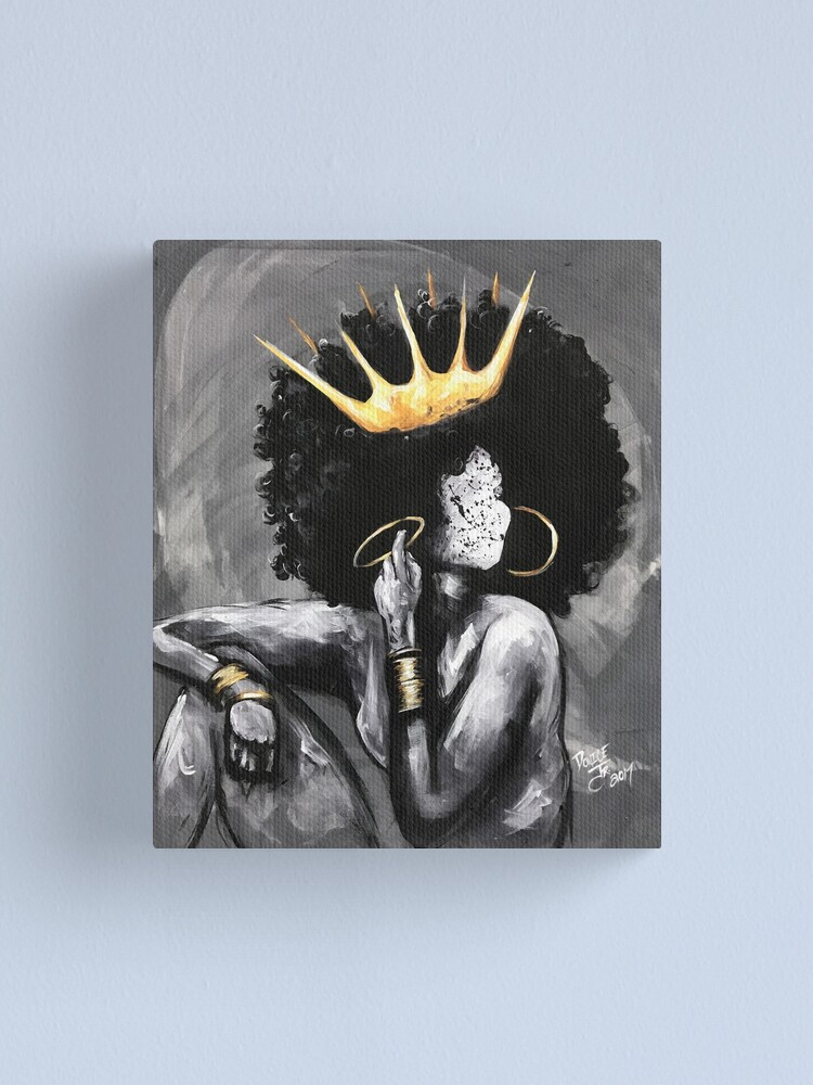 Alternate view of Naturally Queen VI Canvas Print
