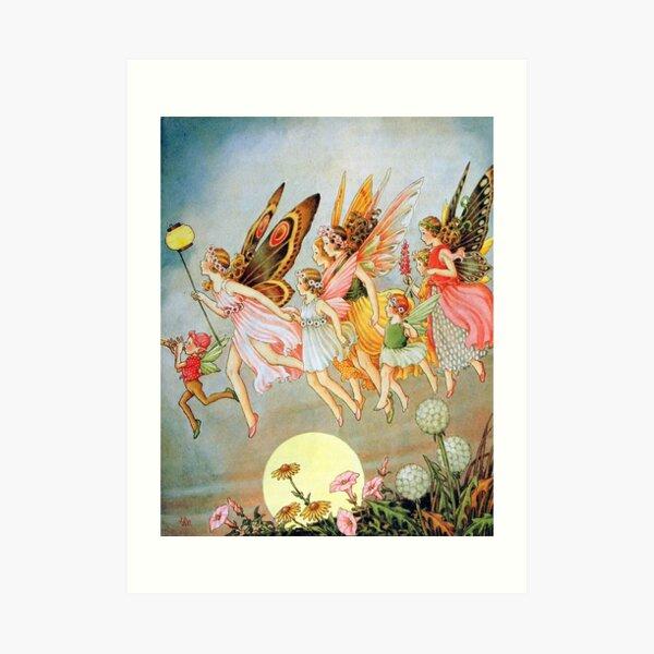 When the Fairies Came - Ida Rentoul Outhwaite Art Print