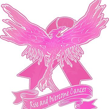 Rise and Overcome Breast Cancer - Breast Cancer Awarenesss by nostalgink