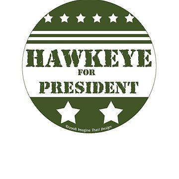 Hawkeye For President by ImagineThatNYC