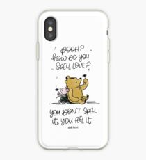 How Do You Spell Love? iPhone Case
