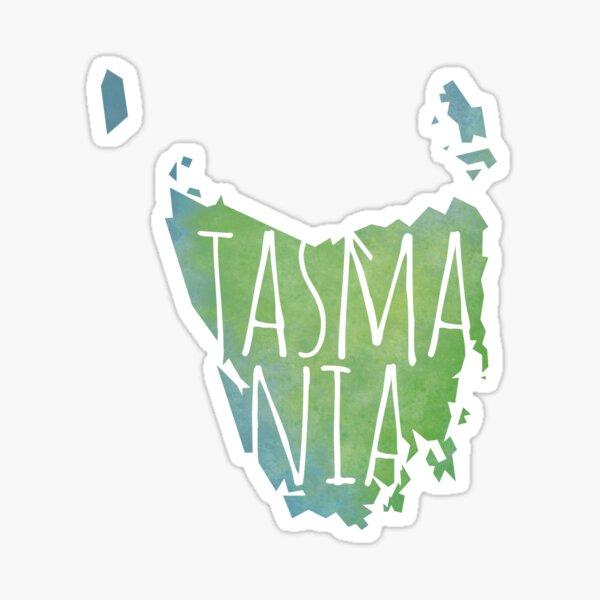 Tasmania Pegatina